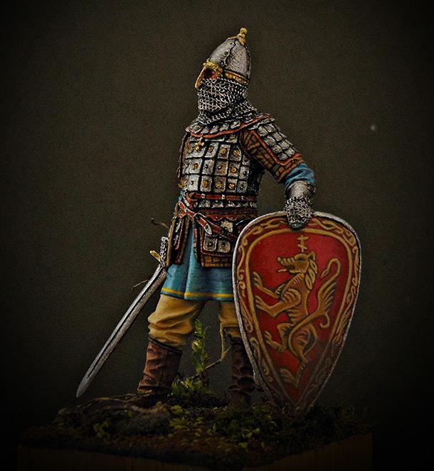 Фигурки: Русский знатный воин, конец XIII - XIV вв.