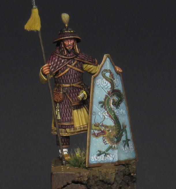 Фигурки: Китайский воин