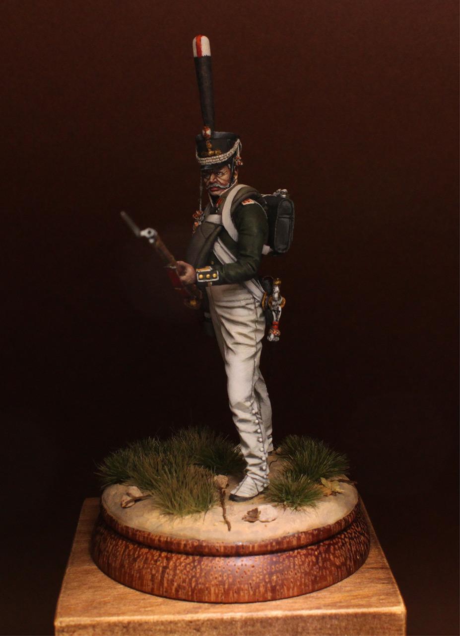 Фигурки: Унтер-офицер 2-го Морского полка, 1812-14 г., фото #3