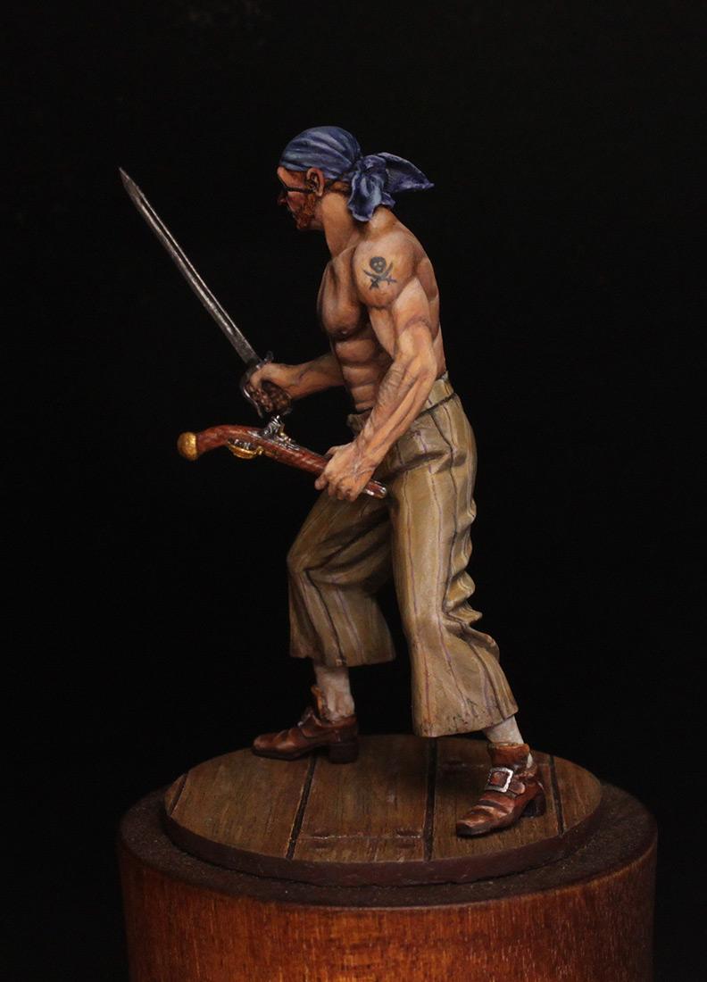 Фигурки: Пират, XVIII в., фото #4