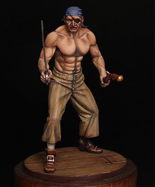 Фигурки: Пират, XVIII в.