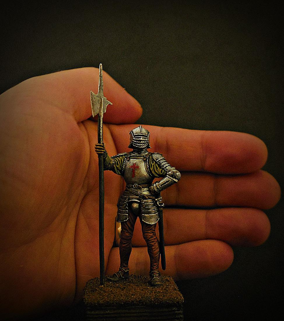 Фигурки: Английский алебардщик, 1513г., фото #10