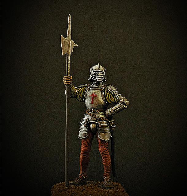 Фигурки: Английский алебардщик, 1513г.