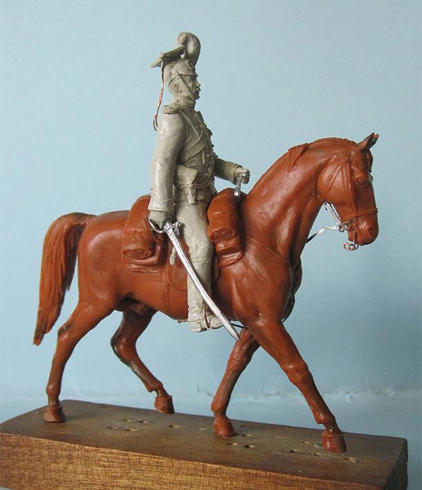 Скульптура: Ротмистр уланского полка, 1913 г.