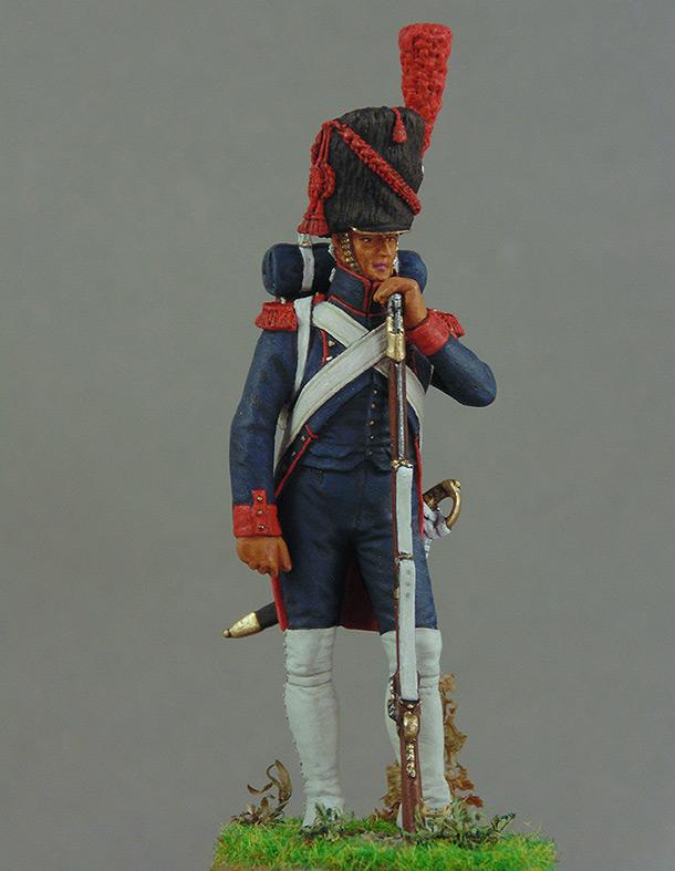 Фигурки: Франция Наполеона. Канонир гвардейской пешей артиллерии