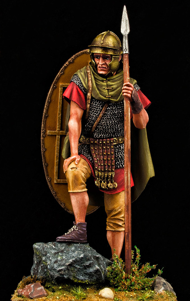 Фигурки: Ауксиларий, II в.н.э., Дакийские войны