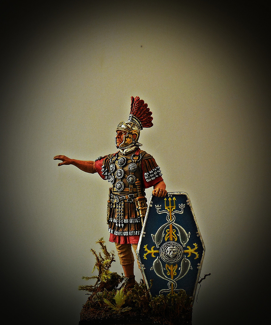 Фигурки: Офицер II Вспомогательного легиона, конец 1го – 2 век., фото #1