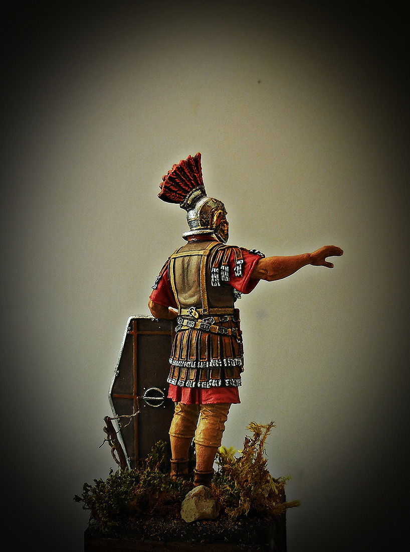 Фигурки: Офицер II Вспомогательного легиона, конец 1го – 2 век., фото #5