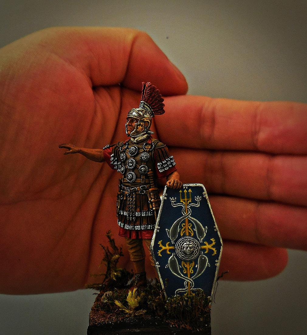Фигурки: Офицер II Вспомогательного легиона, конец 1го – 2 век., фото #9