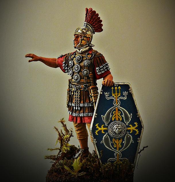 Фигурки: Офицер II Вспомогательного легиона, конец 1го – 2 век.