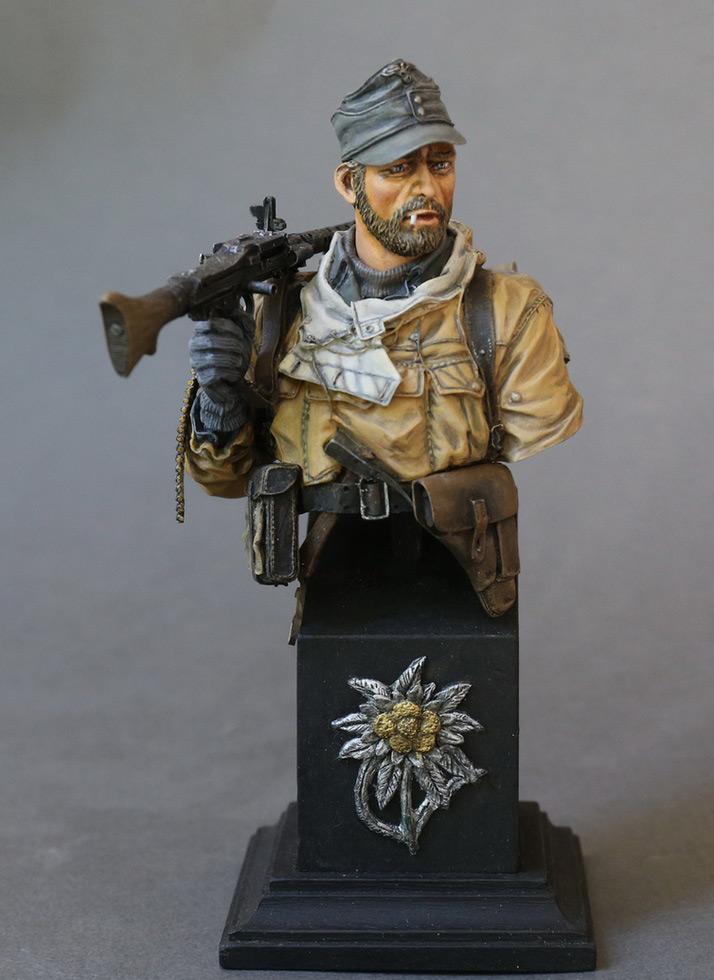 Фигурки: Пулеметчик 1-й горнострелковой дивизии, фото #3