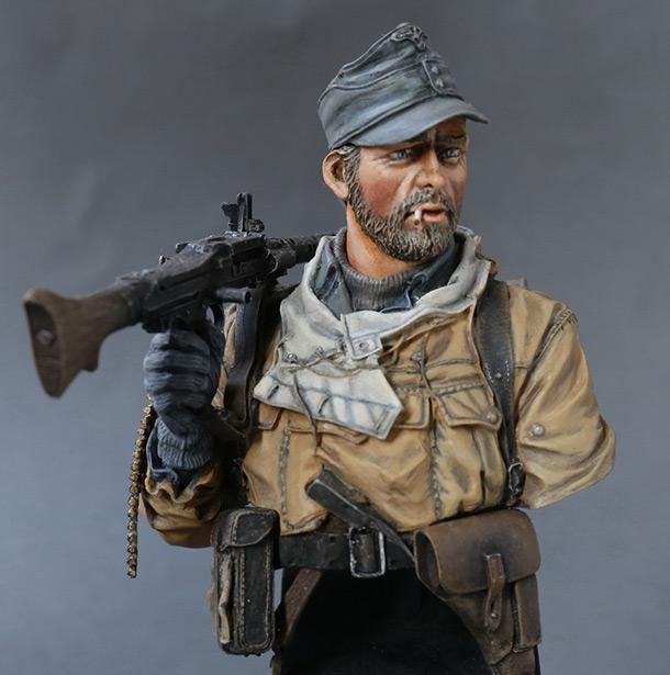 Фигурки: Пулеметчик 1-й горнострелковой дивизии