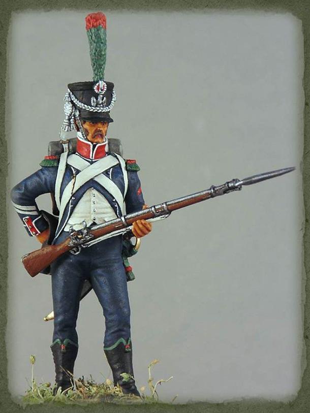 Фигурки: Капрал егерей легкой пехоты, 1809