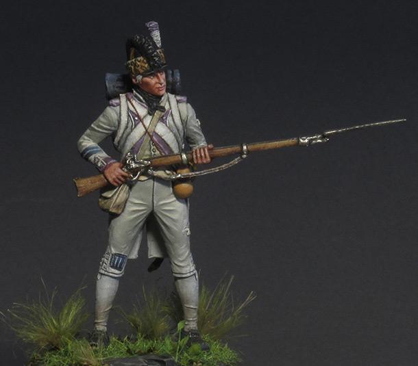 Фигурки: Фузилер 17-го полка, 1792 г.