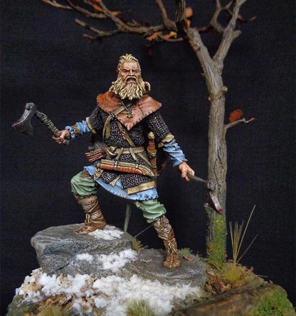 Фигурки: Скандинавский воин IX века.
