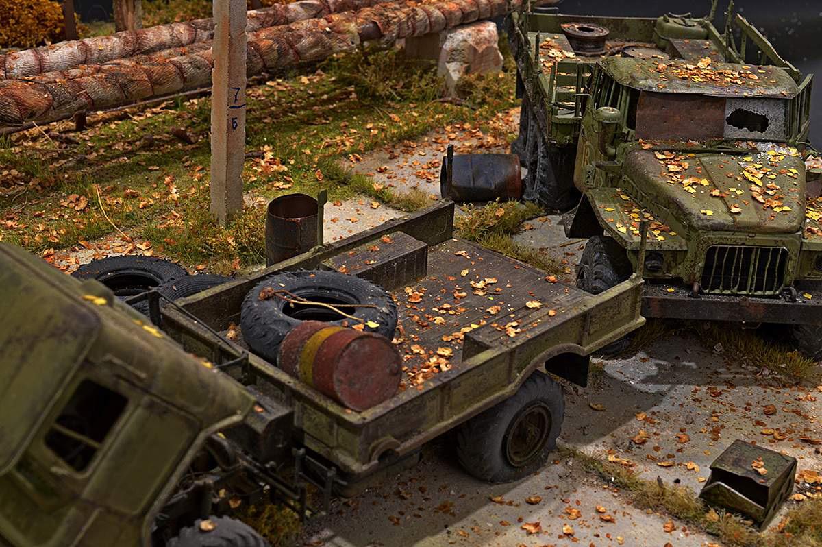 Диорамы и виньетки: Вот и осень..., фото #27
