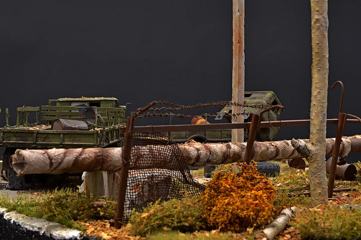 Диорамы и виньетки: Вот и осень..., фото #48