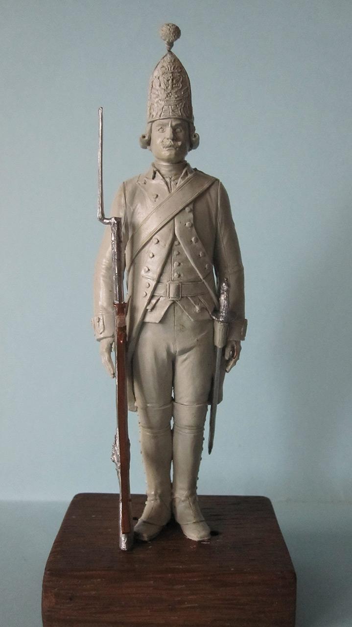Скульптура: Гренадер, 1799 г., фото #1