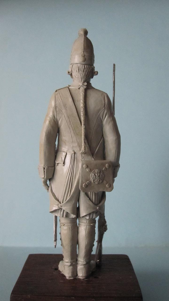 Скульптура: Гренадер, 1799 г., фото #3