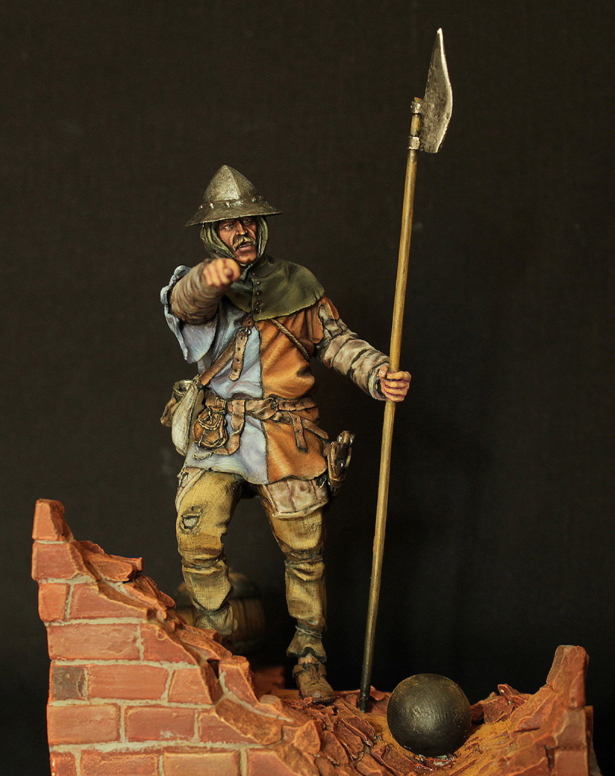 Фигурки: Средневековый пехотинец, фото #1