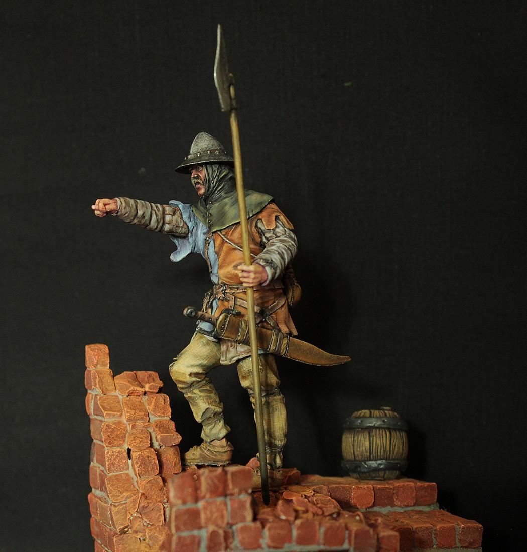 Фигурки: Средневековый пехотинец, фото #2
