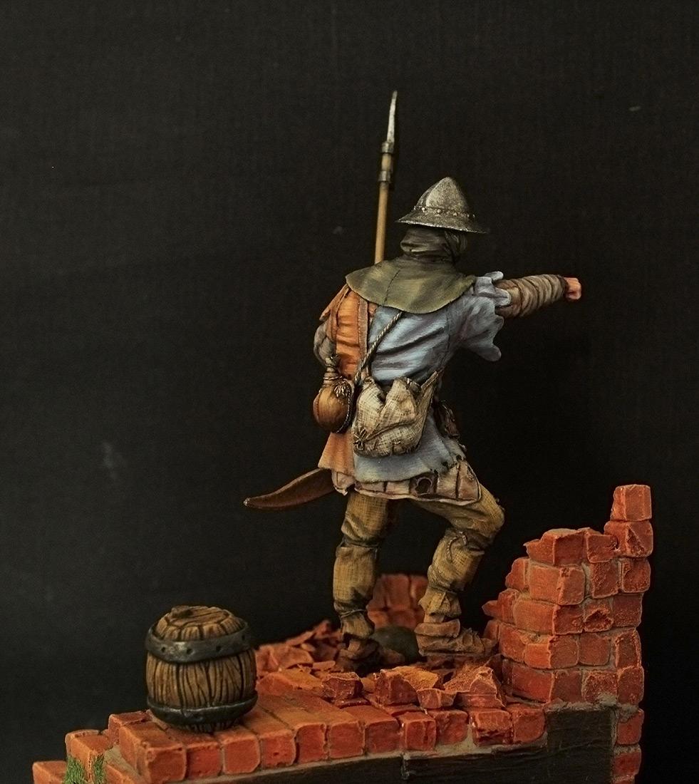 Фигурки: Средневековый пехотинец, фото #4