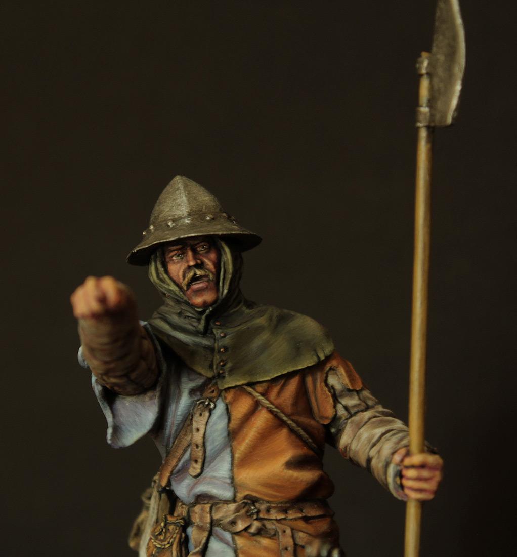 Фигурки: Средневековый пехотинец, фото #5