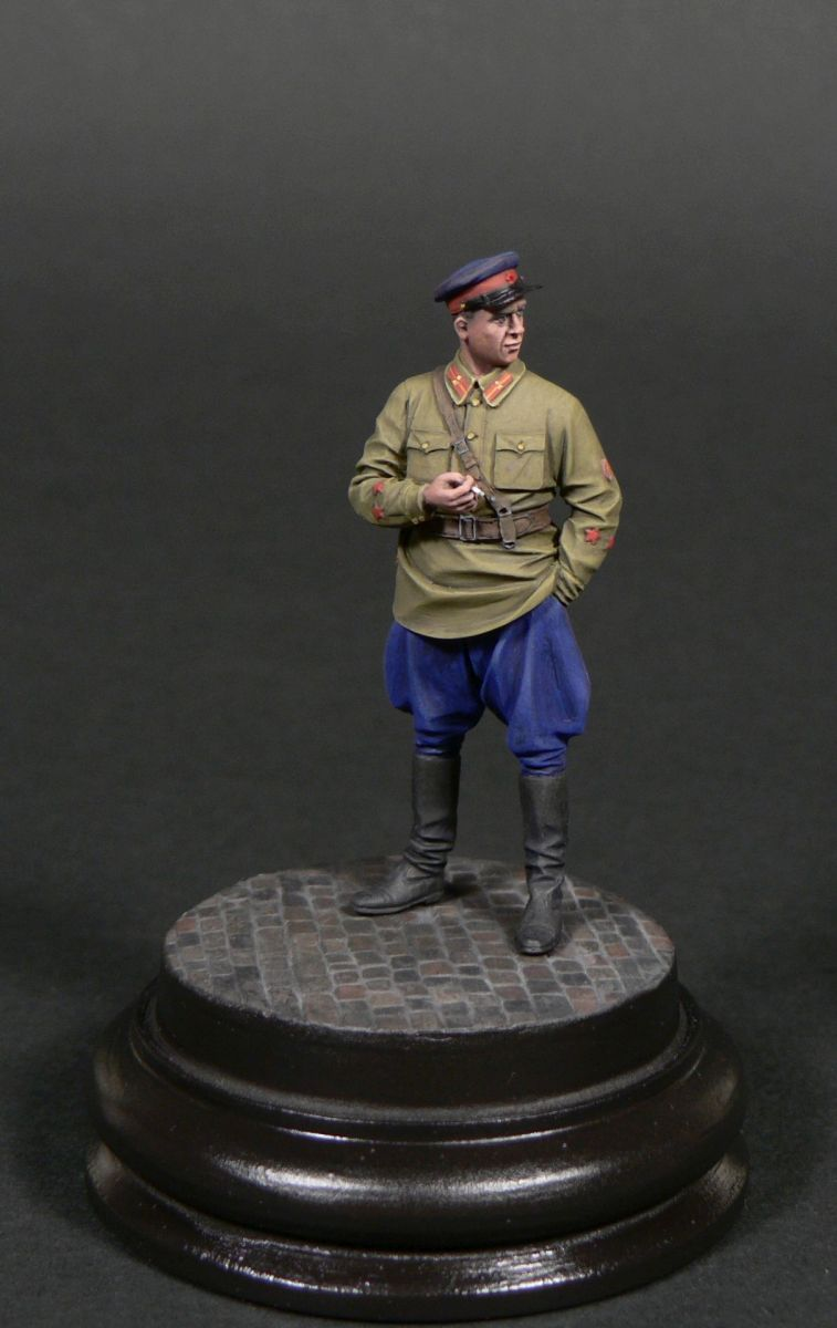Фигурки: Старший лейтенант гос.безопасности НКВД, фото #1