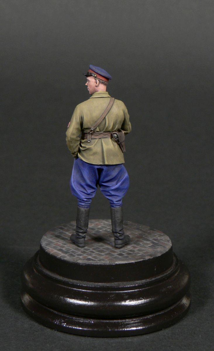 Фигурки: Старший лейтенант гос.безопасности НКВД, фото #2