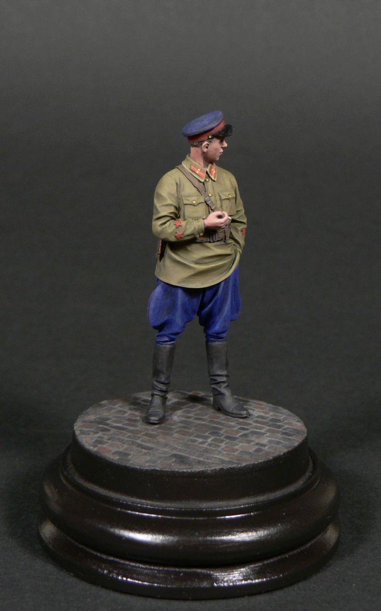 Фигурки: Старший лейтенант гос.безопасности НКВД, фото #3