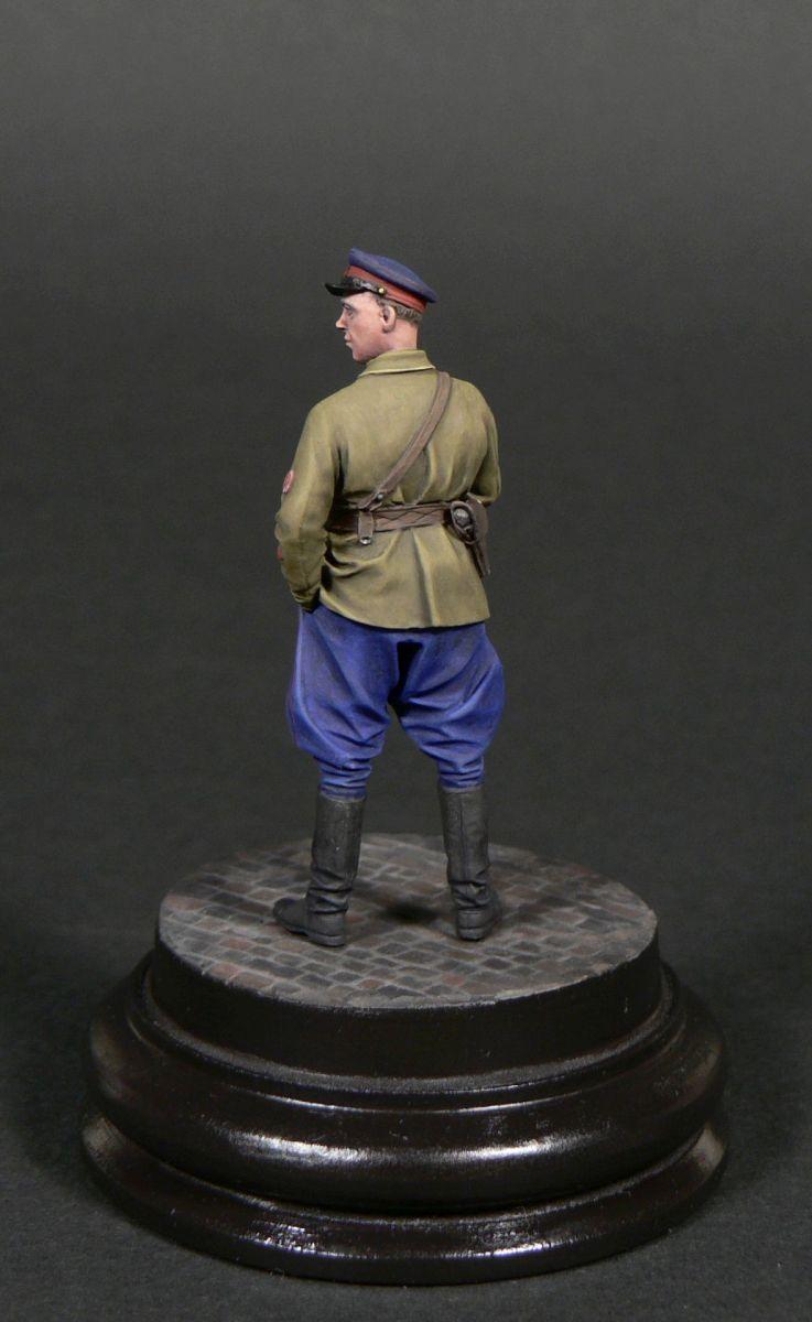 Фигурки: Старший лейтенант гос.безопасности НКВД, фото #4