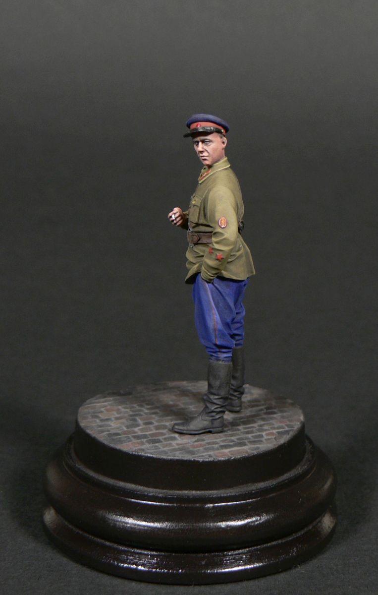 Фигурки: Старший лейтенант гос.безопасности НКВД, фото #5