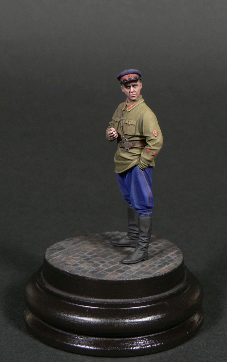 Фигурки: Старший лейтенант гос.безопасности НКВД, фото #6