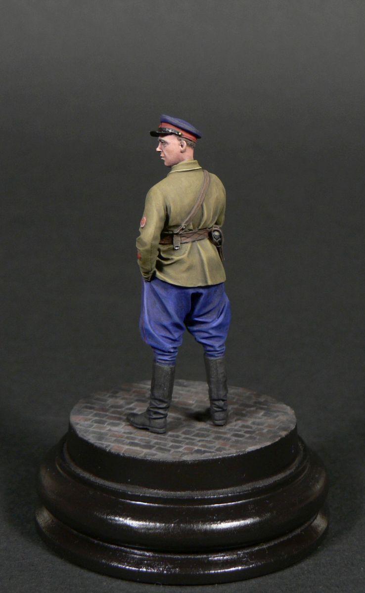 Фигурки: Старший лейтенант гос.безопасности НКВД, фото #7