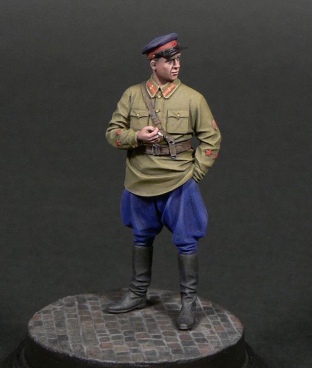 Фигурки: Старший лейтенант гос.безопасности НКВД