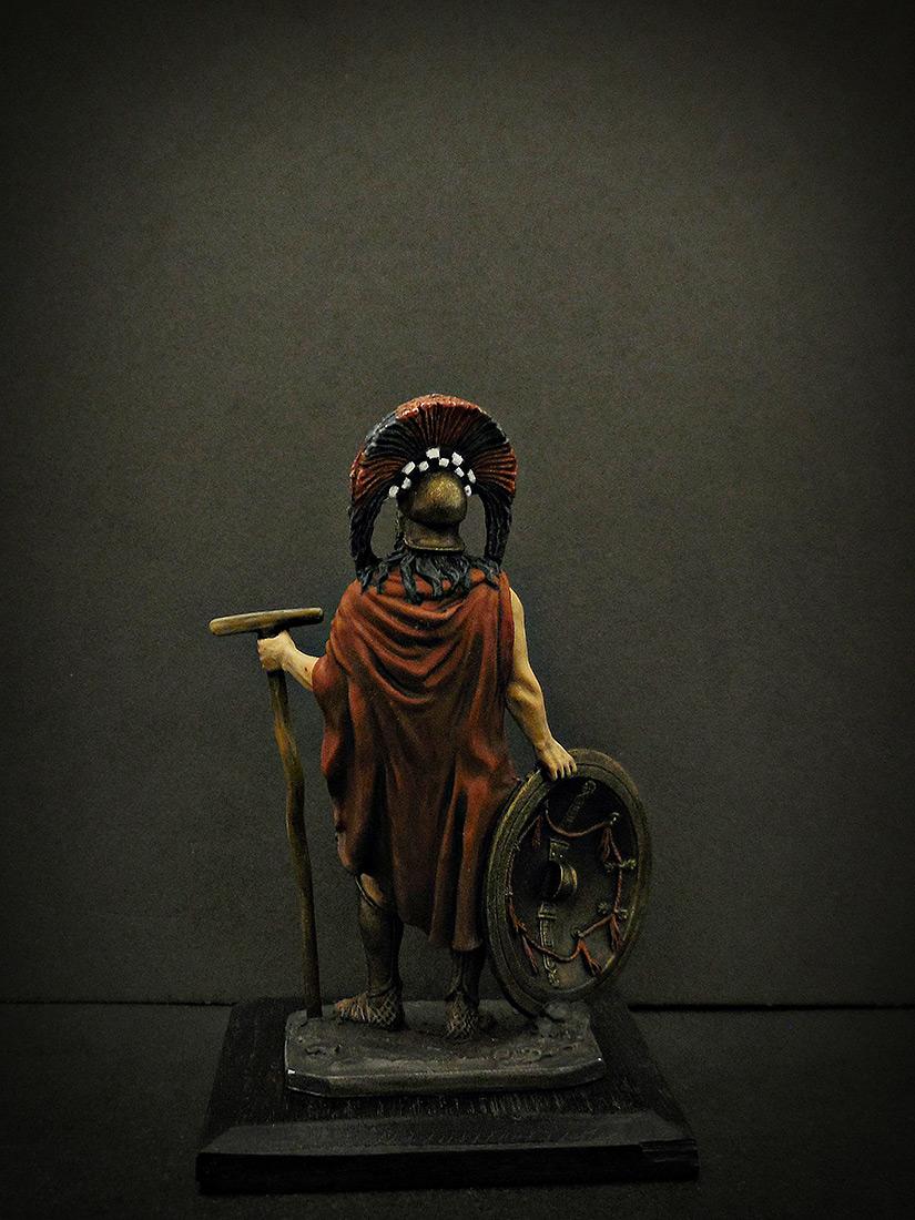 Фигурки: Спартанский командир, V в. до н.э., фото #4