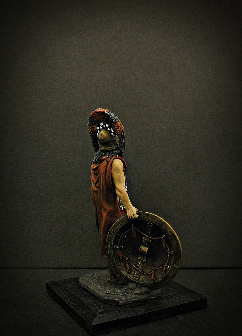 Фигурки: Спартанский командир, V в. до н.э., фото #5