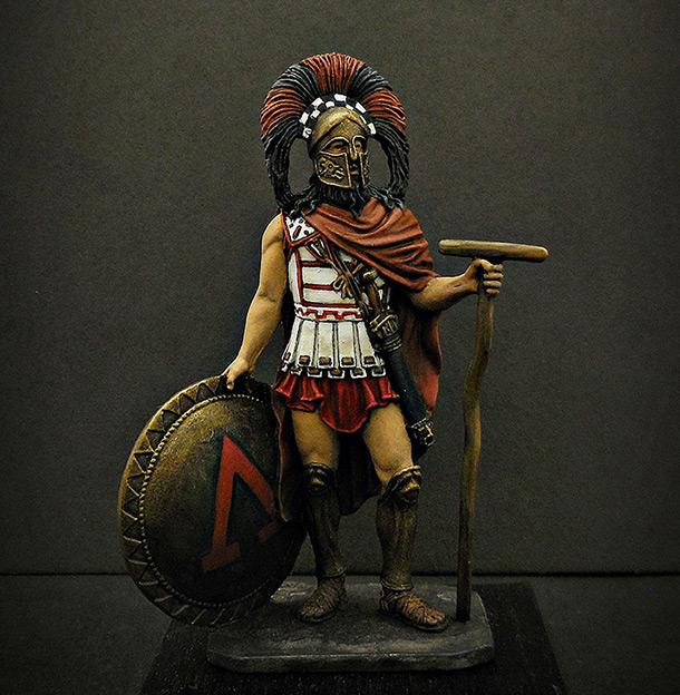 Фигурки: Спартанский командир, V в. до н.э.