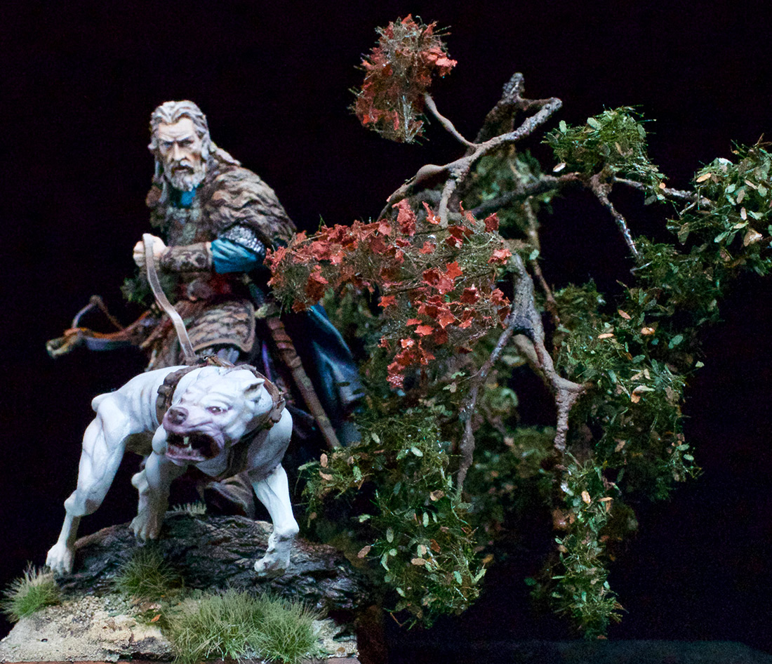 Фигурки: Средневековый охотник, фото #4