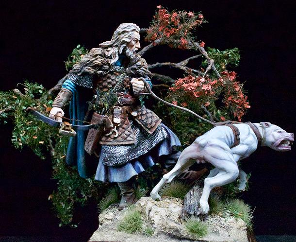 Фигурки: Средневековый охотник