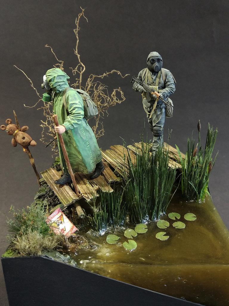 Диорамы и виньетки: На болоте, фото #1