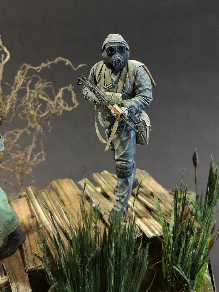 Диорамы и виньетки: На болоте, фото #13