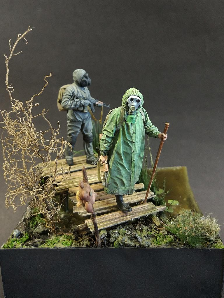Диорамы и виньетки: На болоте, фото #2