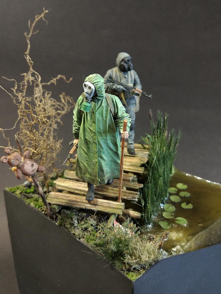 Диорамы и виньетки: На болоте, фото #4