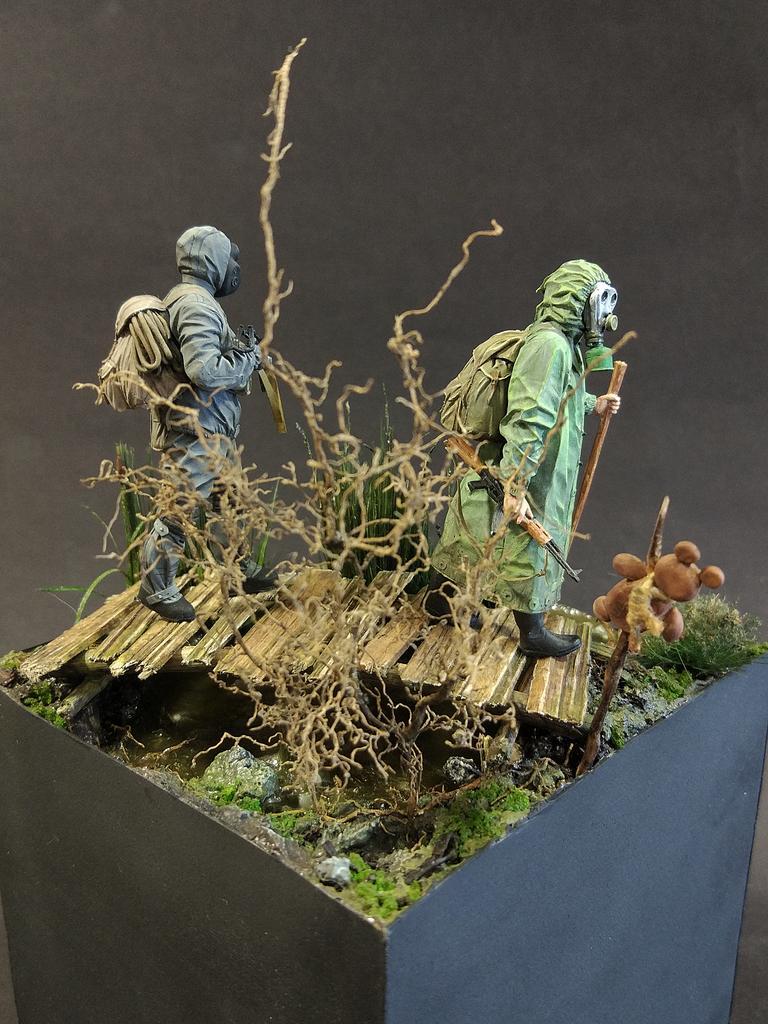 Диорамы и виньетки: На болоте, фото #6