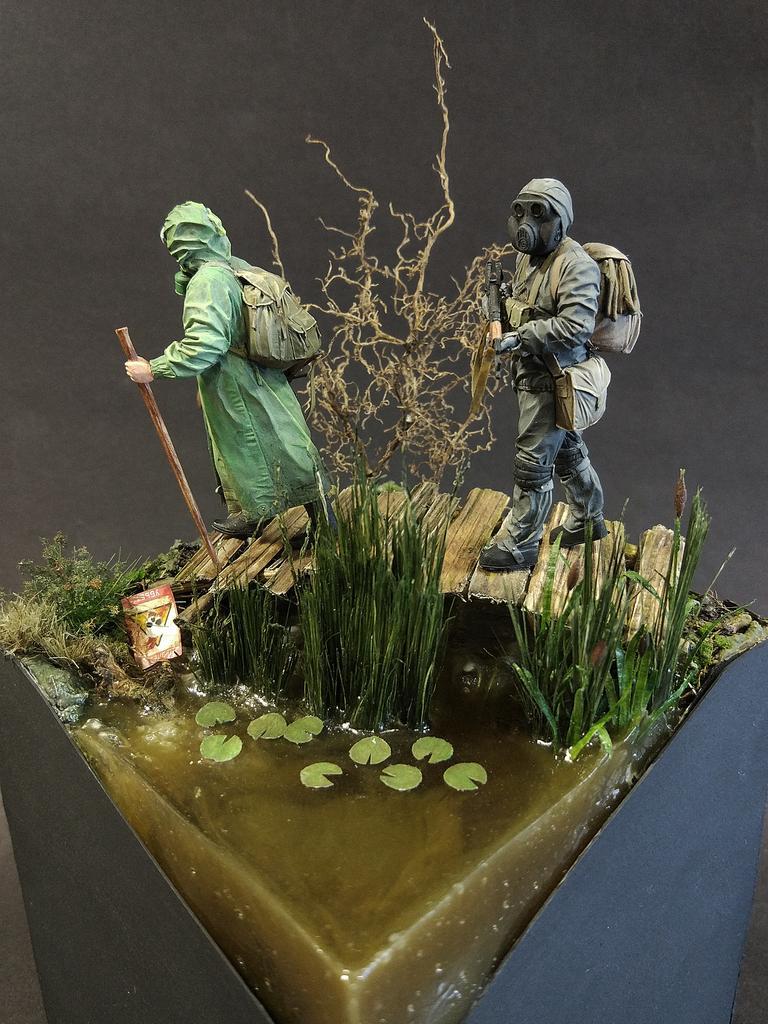 Диорамы и виньетки: На болоте, фото #7