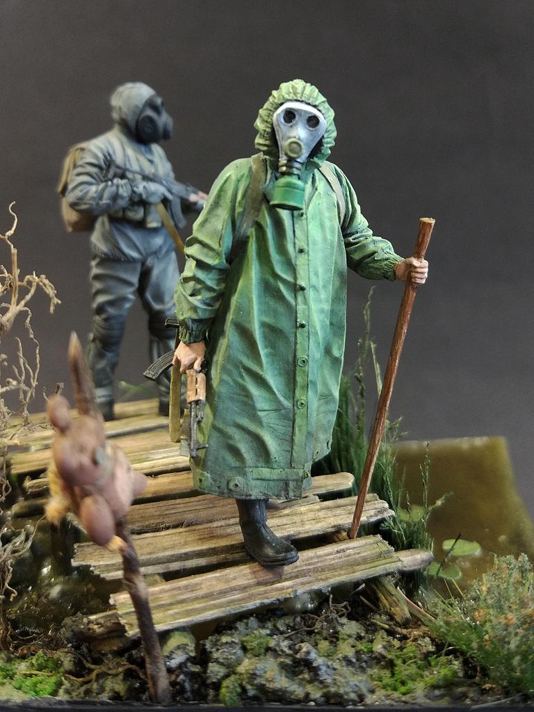 Диорамы и виньетки: На болоте, фото #8