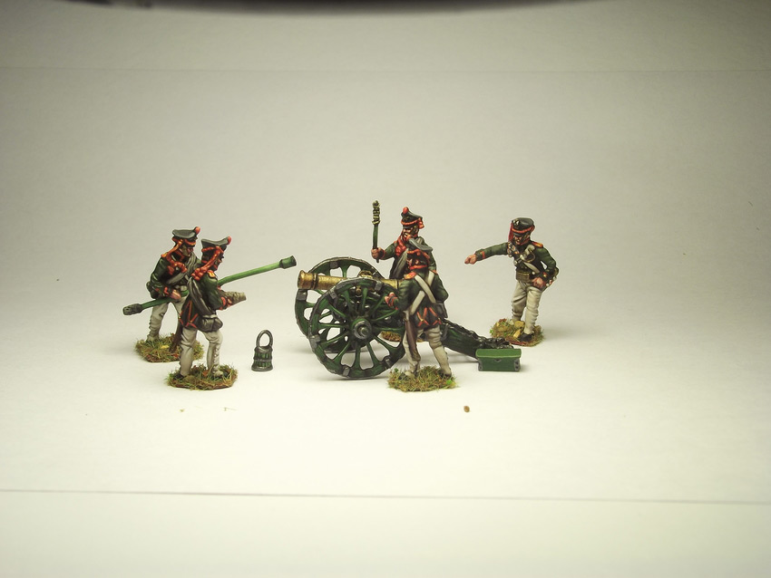 Фигурки: Русская артиллерия, 1812 г., фото #1