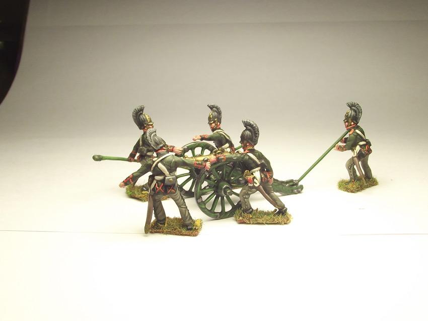 Фигурки: Русская артиллерия, 1812 г., фото #11
