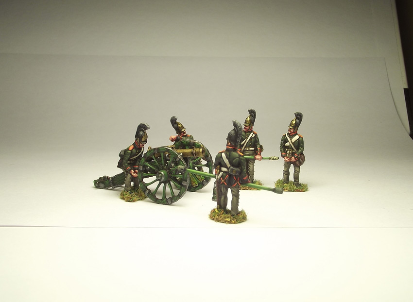 Фигурки: Русская артиллерия, 1812 г., фото #2